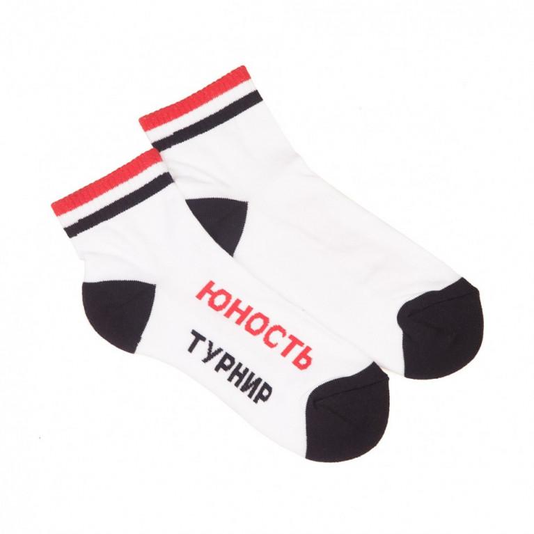 Носки короткие «Команда 18» Белый