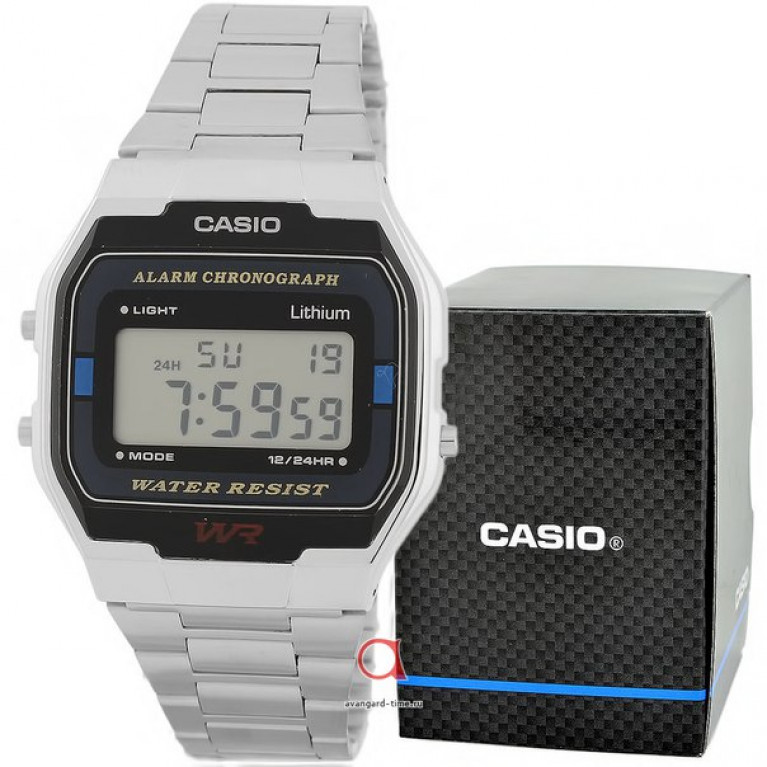 Часы наручные CASIO A-163WA-1Q 593