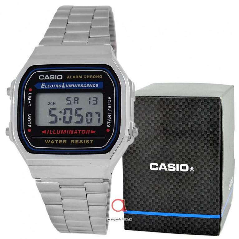 Часы наручные CASIO A-168WA-1Y 1275