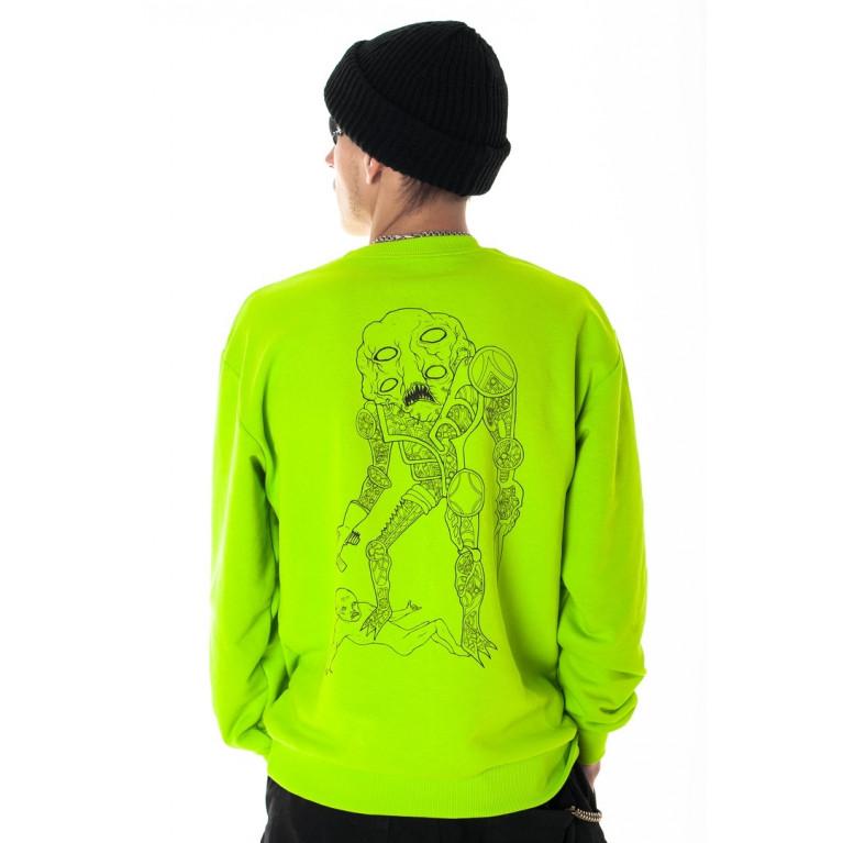 Свитшот Creepy Зеленый
