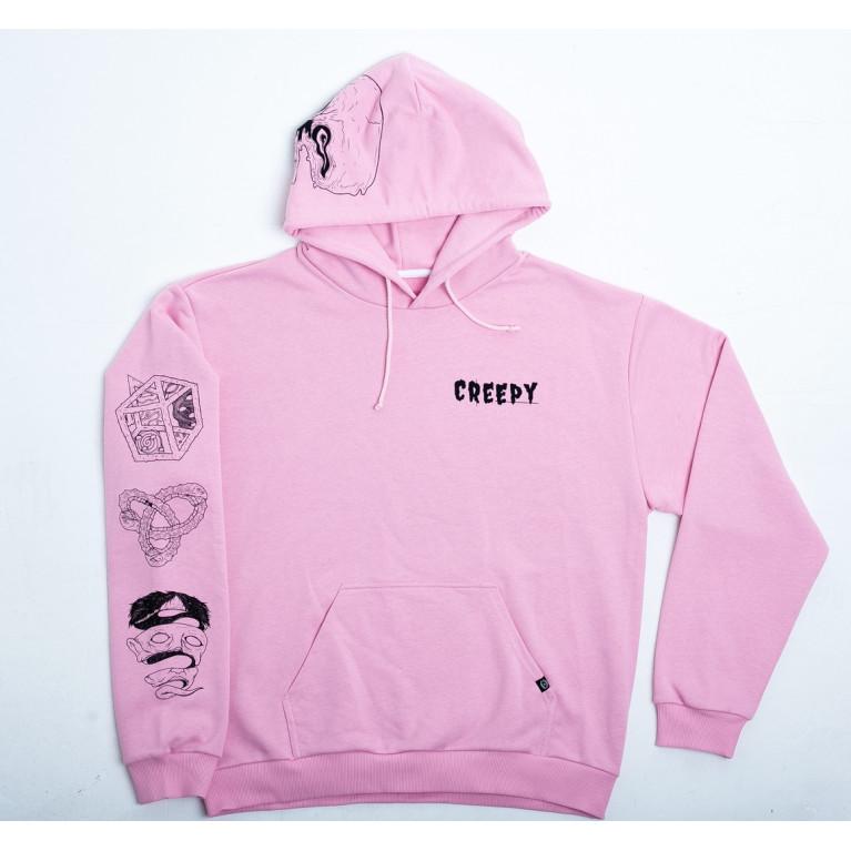 Худи Creepy Розовый