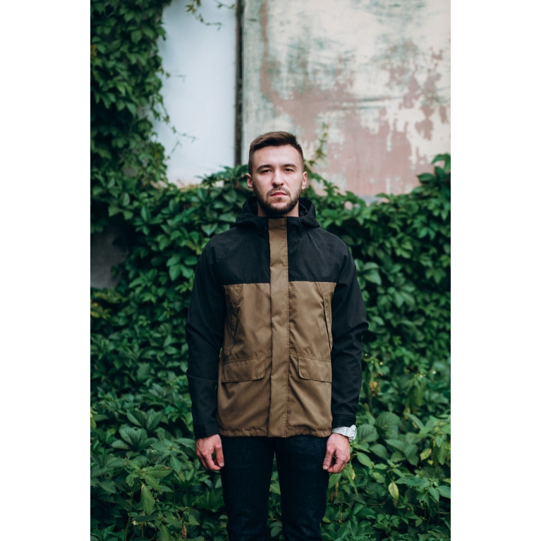 Осенняя куртка Heartland FW18 Черно-Коричневый