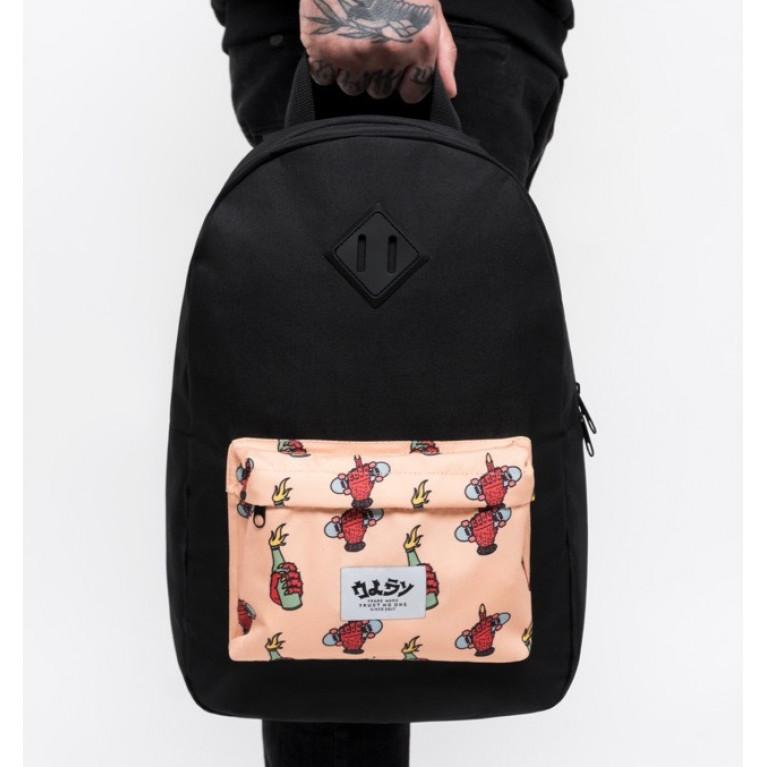 Рюкзак Oldy Демон розовый