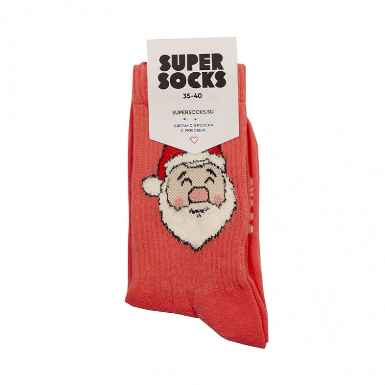 Носки SUPER SOCKS Дед Мороз